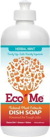 Eco Me - Eco Me Dish Soap Herbal Mint 16 oz