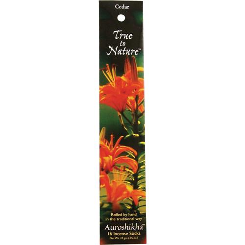 Auroshikha Candles & Incense - Auroshikha Candles & Incense Incense Cedar 10 gm