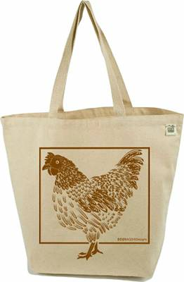 Eco-Bags Products - Eco-Bags Products Farmer's Market Tote Graphic: Chicken