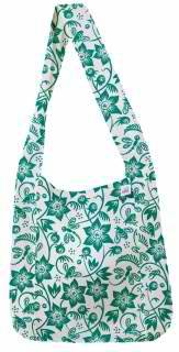 Eco-Bags Products - Eco-Bags Products Sami Floral Print Emerald
