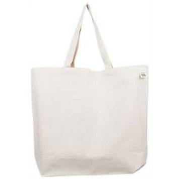 Eco-Bags Products - Eco-Bags Products Shopping Tote- Recycled/Lightweight Cotton Canvas Blank