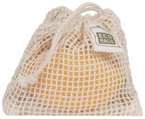 Eco-Bags Products - Eco-Bags Products Soap Bag 4x4.25 Natural Cotton