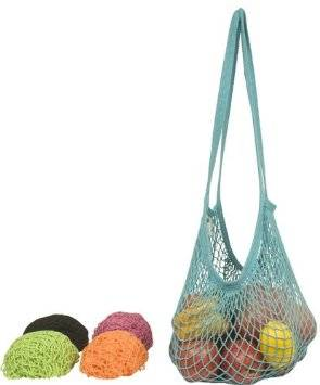 Eco-Bags Products - Eco-Bags Products String Bag Long Handle Natural Cotton Set-Assorted Tropicals