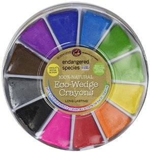 Health Science Labs - Eco Wedge Crayons 12 ct