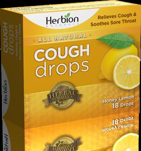 Herbion - Herbion Cough Drops Honey Lemon 18 lozenge