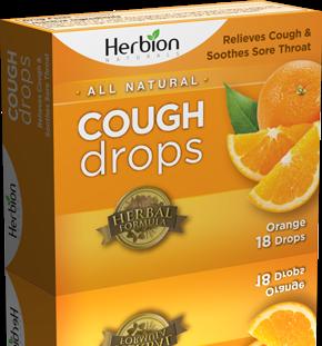 Herbion - Herbion Cough Drops Orange 18 lozenge