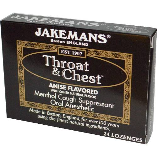 Jakemans - Jakemans Throat Lozenges Menthol Box 24 ct - Anise Licorice