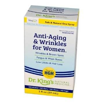 King Bio - King Bio Anti-Aging & Wrinkles for Women 2 oz