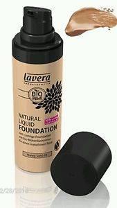 Lavera - Lavera Natural Liquid Foundation 30 ml - Honey Sand