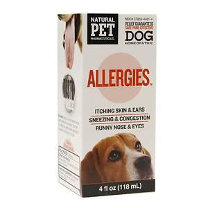 Natural Pet Pharmaceuticals - Natural Pet Pharmaceuticals Allergies Dog 4 oz