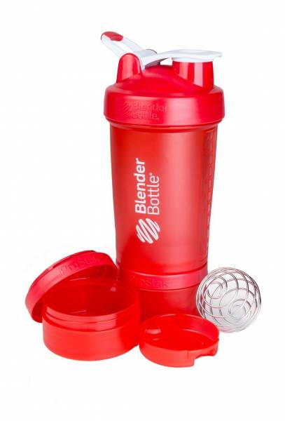BlenderBottle - Blender Bottle ProStak System with 22-Ounce Bottle and Twist n' Lock Storage