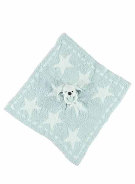 Barefoot Dreams - Barefoot Dreams Cozychic Dream Buddie Mini Blanket - Blue/Star
