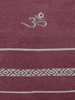 Yoga - Accessories - Barefoot Yoga - Barefoot Yoga Practice Rug with Embroidered OM - Rajasthan