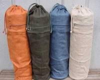 Barefoot Yoga 100% Hemp Yoga Mat Bag - Green
