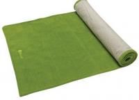 Accessories - Towels - Gaiam - Gaiam Grippy Yoga Mat Towel - Green