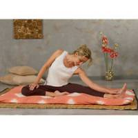 Gaiam - Gaiam Tie-Dyed Mat Covers - Natural