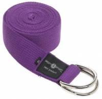 Hugger Mugger - Hugger Mugger 8 ft Cotton Strap with D Ring - Purple