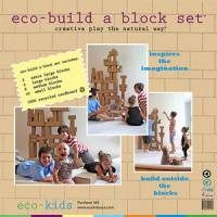 Toys - eco-kids - Eco-Kids Eco-Build A Block Set