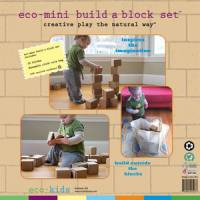 Toys - eco-kids - Eco-Kids Eco-Mini Build a Block Set