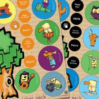 Toys - eco-kids - Eco-Kids Eco-Sticker Pack