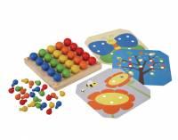Toys - Learning & Education - Plan Toys - Plan Toys Creative Peg Board