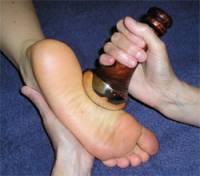 Health & Beauty - Massage & Muscle Tension - Diamond Way Ayurveda - Diamond Way Ayurveda Kansa Vataki Foot Wand
