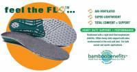 Fitness & Sports - Support Accessories - Earth Therapeutics - Earth Therapeutics Circuflo Odor Absorbing Impact Support Insoles - Small