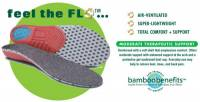 Earth Therapeutics Circuflo Odor Absorbing Comfort Support Insoles - Large