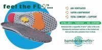 Earth Therapeutics Circuflo Odor Absorbing Arch Plus Support Insoles - XL
