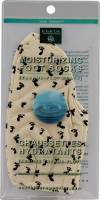 Health & Beauty - Foot Care - Earth Therapeutics - Earth Therapeutics Moisturizing Foot Socks w/ Foot Prints - Natural