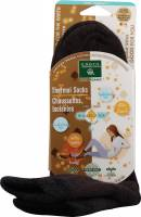 Clothing - Socks - Earth Therapeutics - Earth Therapeutics Thermal Double Layer Socks - Brown/Black