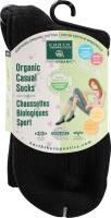 Clothing - Socks - Earth Therapeutics - Earth Therapeutics Women's Casual Crew Socks - Black