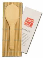 Joyce Chen - Joyce Chen Sushi Kit Bamboo Rice Paddle & Booklet