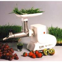 Kitchen - Blenders & Juicers - Miracle Exclusives - Miracle Exclusives Miracle Stainless Steel Electric Wheat Grass Juicer