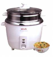 Bakeware & Cookware - Rice Cookers - Miracle Exclusives - Miracle Exclusives Miracle Stainless Steel Rice Cooker