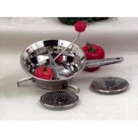 Kitchen - Food Mills & Grinders - Miracle Exclusives - Miracle Exclusives Stainless Steel Vegetable Food Mill