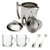 Tea - Teapots & Kettles - Frieling - Frieling Tea Maker 20 fl oz - Mirror Finish