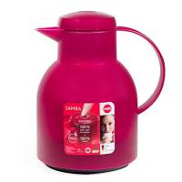 Tea - Teapots & Kettles - Frieling - Frieling Samba Quick Press 34 fl oz - Translucent Raspberry
