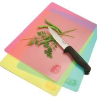 Kitchen - Cutting Boards - Norpro - Norpro Flexible Cutting Mats - Pink, Yellow & Green