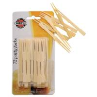 Kitchen - Bamboo - Norpro - Norpro Bamboo Party Forks
