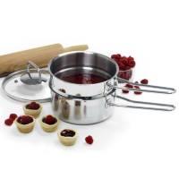 Bakeware & Cookware - Pots - Norpro - Norpro Krona Stainless Steel Double Boiler 1.5 qt