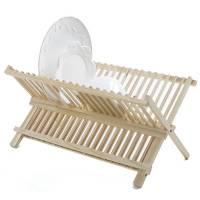 "Bamboo - Dish Rack - Norpro - Norpro Wooden Dish Dry Rack 20.5"" x 15"""