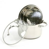 Bakeware & Cookware - Steamers - Norpro - Norpro Steamer Cooker 3 pcs