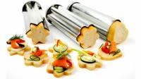 Bakeware & Cookware - Cake Pans - Norpro - Norpro Tin Canape Bread Molds 3 pcs