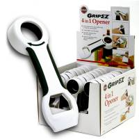 Utensils - Bottle & Can Openers - Norpro - Norpro Grip-Ez 4 In 1 Opener