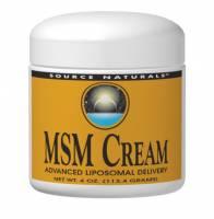 Source Naturals - Source Naturals MSM Cream 15% 4 oz