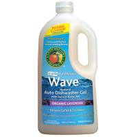 Earth Friendly Products Wave Auto Dishwasher Liquid 40 oz - Organic Lavender (8 Pack)