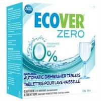 Kitchen - Cleaning Supplies - Ecover - Ecover Zero Dishwasher Tablets 25 ct (12 Pack)