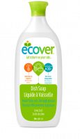 Kitchen - Cleaning Supplies - Ecover - Ecover Liquid Dish Soap 25 oz - Lime Zest (6 Pack)