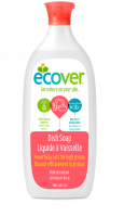 Ecover Liquid Dish Soap 25 oz - Pink Geranium (6 Pack)